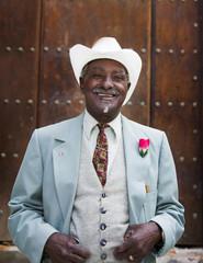 Portrait of well-dressed Black man