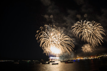 Fireworks for the feast of Nessebar