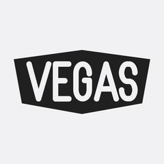 Vegas icon illustration