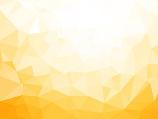 low poly yellow pattern Fototapete