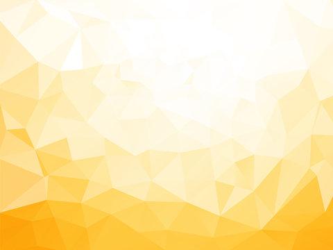 low poly yellow pattern
