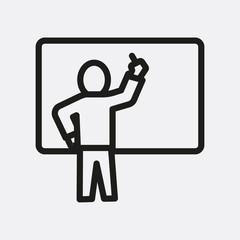 Lesson icon illustration
