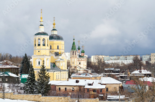 Serpukhov Russia  city pictures gallery : The city of Serpukhov in Russia, old Church