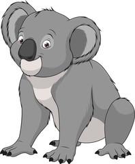 Adult funny koala