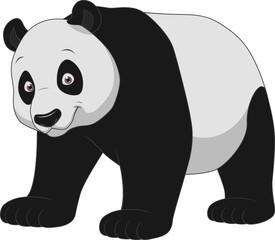 Adult funny panda