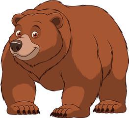 Funny big bear