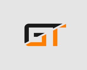 Letter GT Logo
