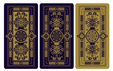 Vector illustration for Tarot cards
