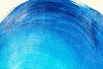 Blue textured acrylic background