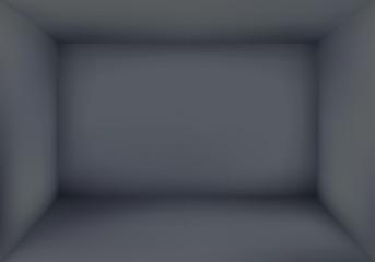 Blank Dark Room Background Vector