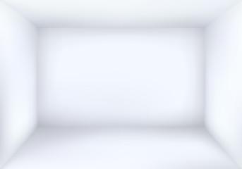 Blank White Room Background Vector