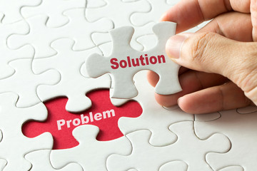 Solution for problem for business metaphor