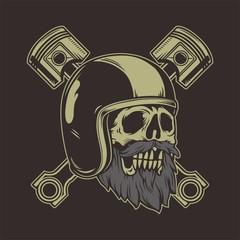 extreme skull piston