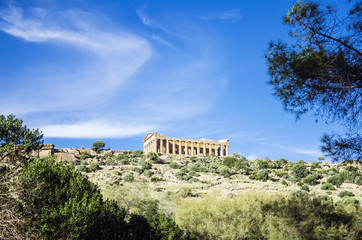 Sicily, Agrigento , Temple of concordia view