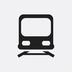 Train icon illustration