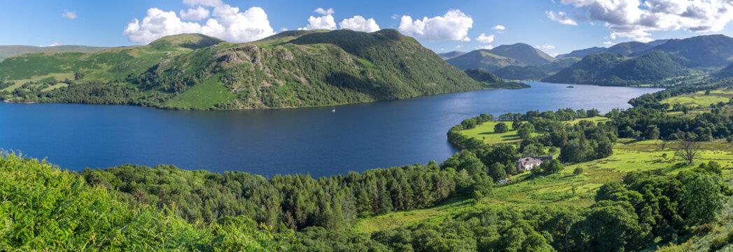View of Ullswater Lake, Lake District, UK