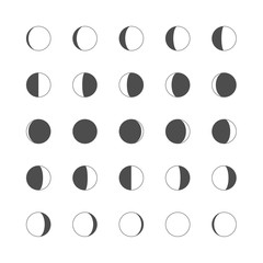 moon gray icons