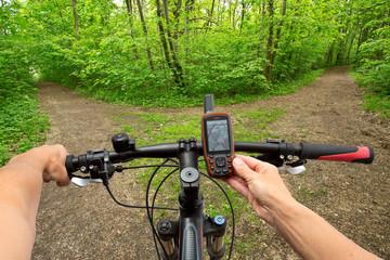 GPS Navigation am Fahrrad