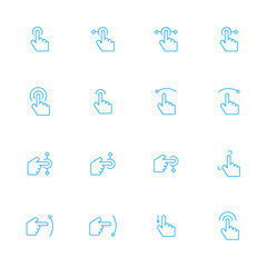touch screen icons