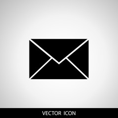 Envelope Icon . Mail symbol for your web site design, logo, app, UI.