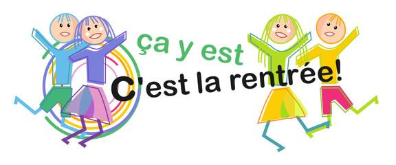 Logo rentrée scolaire