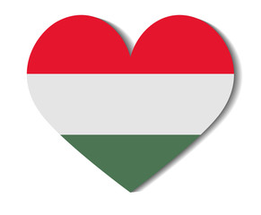 heart flag hungary