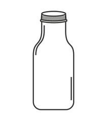 cute mason jar isolated icon