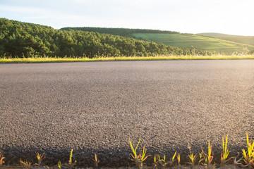 Close-up of rural roads