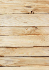 Wooden wall background or texture, old natural wood wall texture