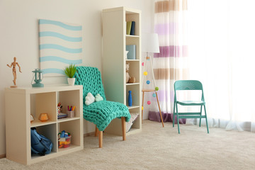 Beautiful children room interior