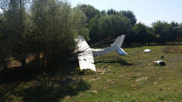 Faux crash d'avion