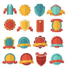 Wall Mural - Modern flat vector badges set