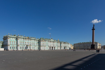 Winter Palace in Saint Petersburg. Russia