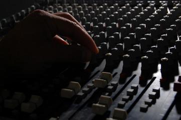 audio console back light