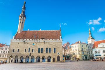 Tallinn old town hall Estonia