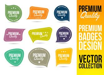 Premium Quality Logo Badge and Emblem in Flat Design Style.