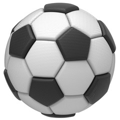 Soccer ball. 3D illustration. 3D CG