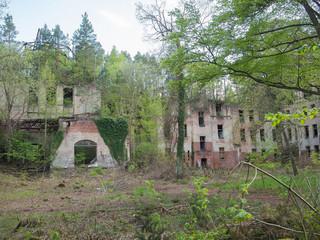 Keuken foto achterwand Oud Ziekenhuis Beelitz Schönes verlassenes verfallenes Gebäude