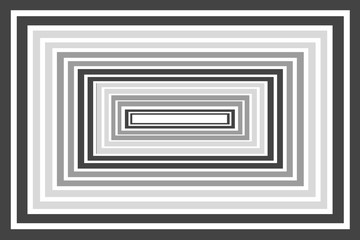 Black and White Box Theme - Abstract Design