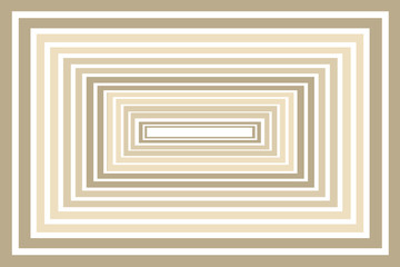 Gold Sepia Boxes - Abstract Design