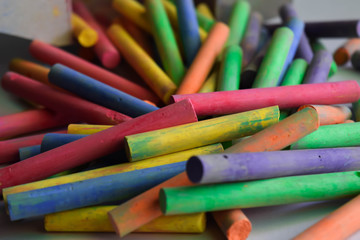 color chalk