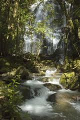 Waterfall at Volcano Rincon de la Vieja in Costa Rica.