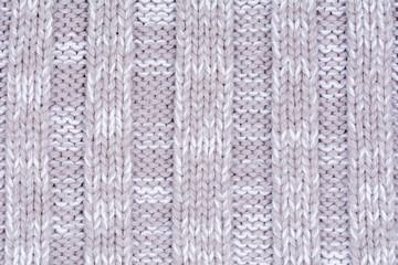 Woolen decorative fabric texture background, close up