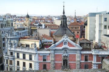 Madrid tejados