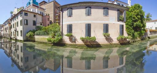 treviso canale dei buranelli veneto italia europa