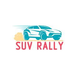 Car Logo suv Template Design Vector