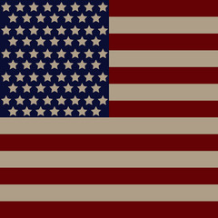 Illustration of the USA flag