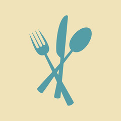 Cutlery vector icon