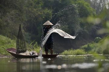 Photo sur Toile Guilin Fishing