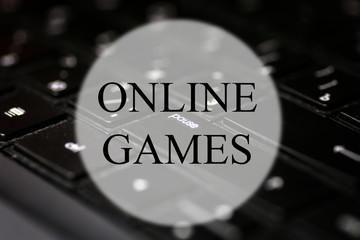 keyboard black game background